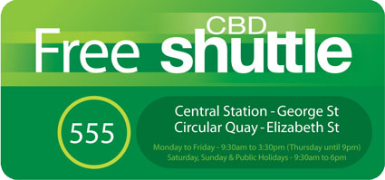 Free Shuttle Bus To Sydney CBD Repair Centre