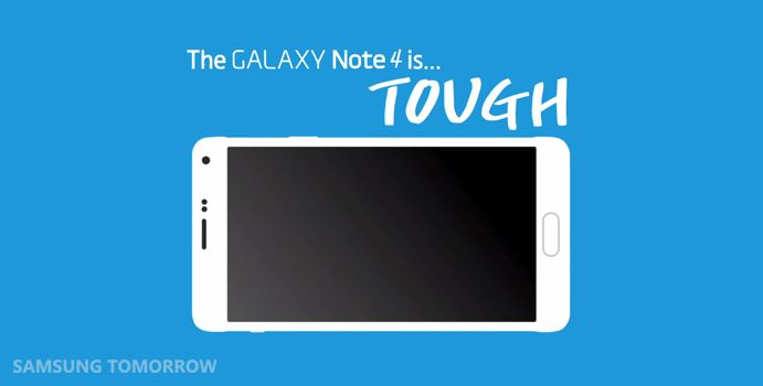 Thud. What If You Drop Your Galaxy Note 4?