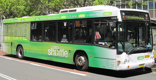 By Free Shuttle Bus To Sydney CBD Repair Centre