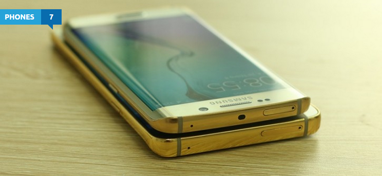 Galaxy Note 5 and S6 Edge+ now up for grabs in 24K gold