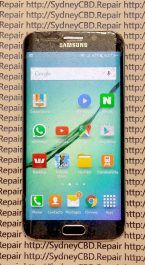 Before Samsung Galaxy S6 Edge Screen Replacement