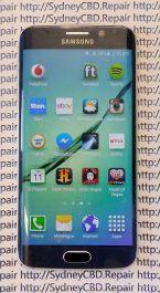 Broken Galaxy S6 Edge 9