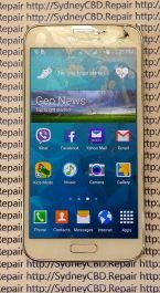 Broken Galaxy S4 Glass 10