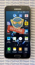 Broken Galaxy S4 Glass 6