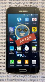 After Samsung Galaxy S5 Screen Replacement