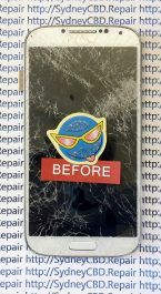 Broken Galaxy S4 AMOLED 5