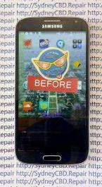 Broken Galaxy S4 Glass 4