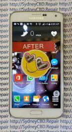 Fixed Galaxy S5 Glass 7