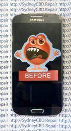 Broken Galaxy S4 AMOLED 2