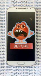 Broken Galaxy S4 AMOLED 1