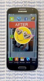 Fixed Galaxy S4 AMOLED 2