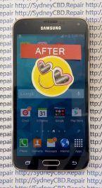 After Samsung Galaxy S5 Screen Repair