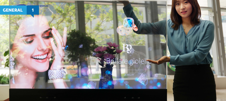 Samsung will show off its transparent OLED display at IFA 2015