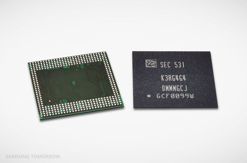 Samsung Launches Industry's First 12Gb LPDDR4 DRAM