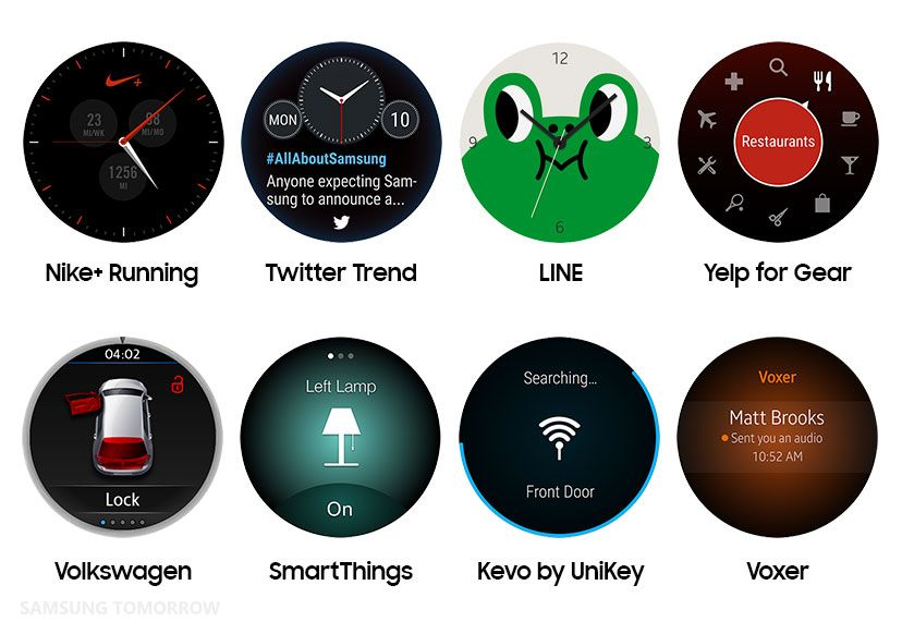 Timeless Partners for the Samsung Gear S2