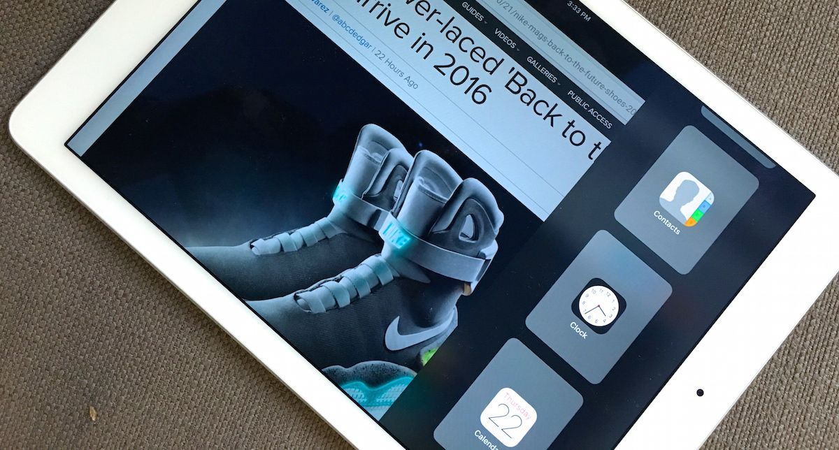 Chrome for iPad now supports iOS 9's multitasking features