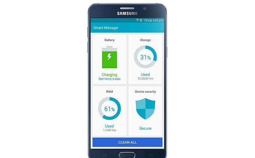 Smart Manager: The Way to Keep Your Galaxy Smartphone as Good as New Always