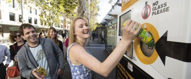 The Citys award winning reverse vending machine at Circular Quay 620x256