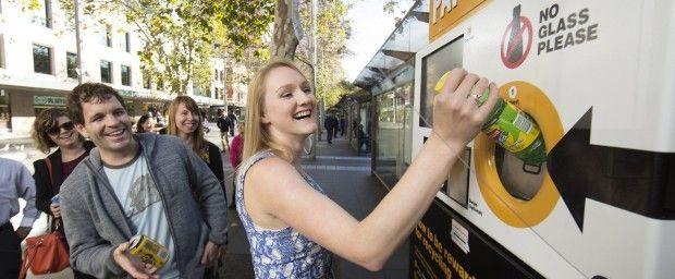 The Citys award winning reverse vending machine at Circular Quay 620x256