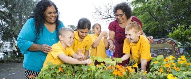 Aboriginal garden will help children grow and learn