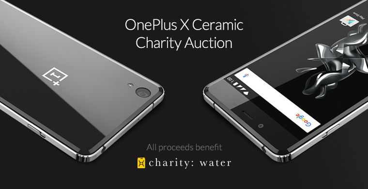 Announcing the OnePlus X Ceramic Charity Auction