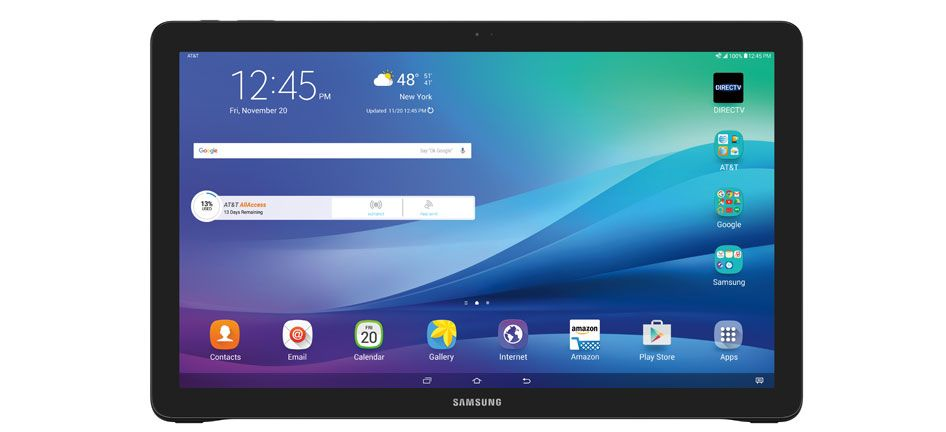 AT&T will start selling the Galaxy View on November 20