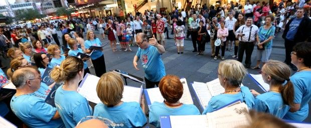 Sydney fills with the sounds of the season