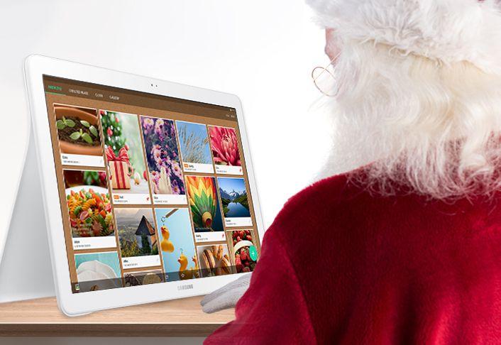 The Galaxy View—Santa's Newest Helper