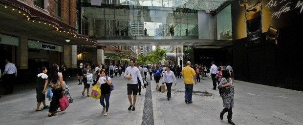 WP Pitt Street Mall Image by Paul Patterson City of Sydney 620x256