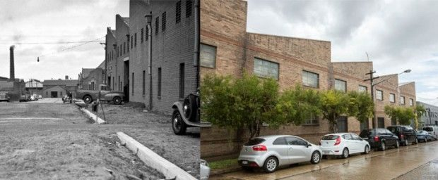 William Street Beaconsfield then and now 620x256