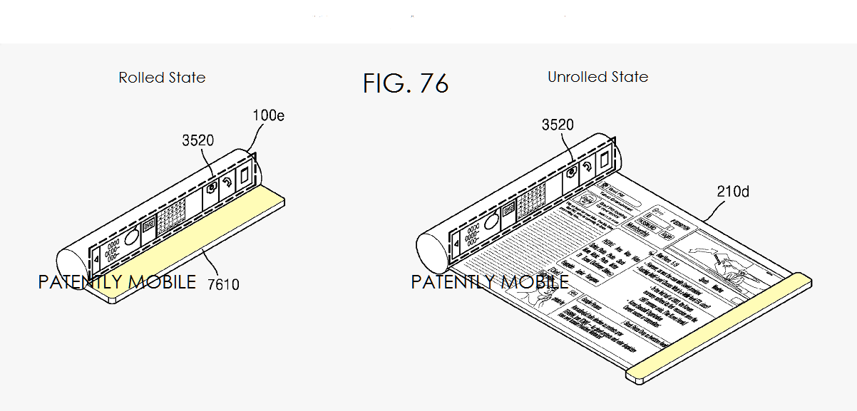 Samsung's latest patents show scrollable devices, tab style smartphones and more