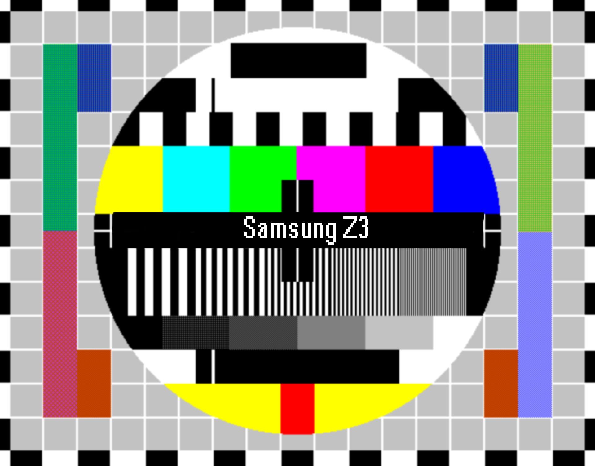 Samsung Z3 detailed screen analysis