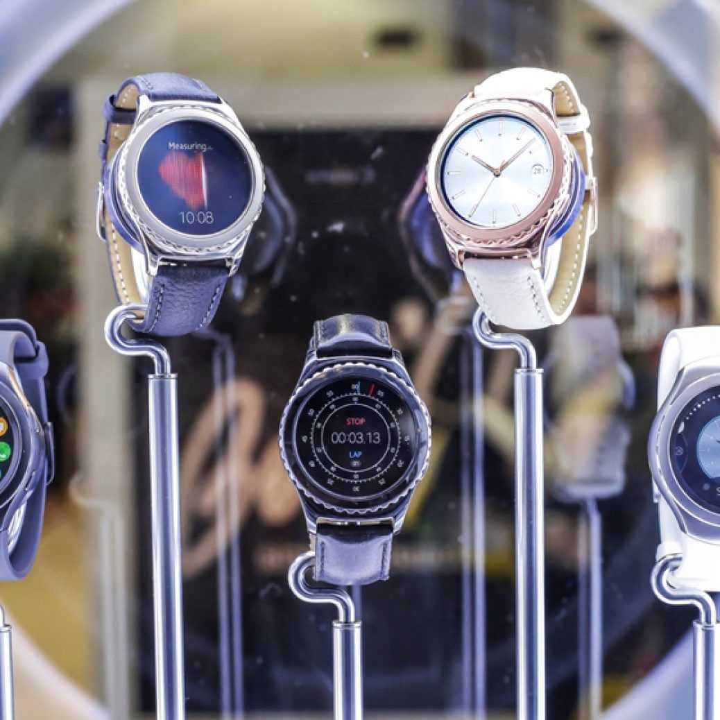 Samsung Gear S2 Classic Rose Gold Platinum Tizen ID 1
