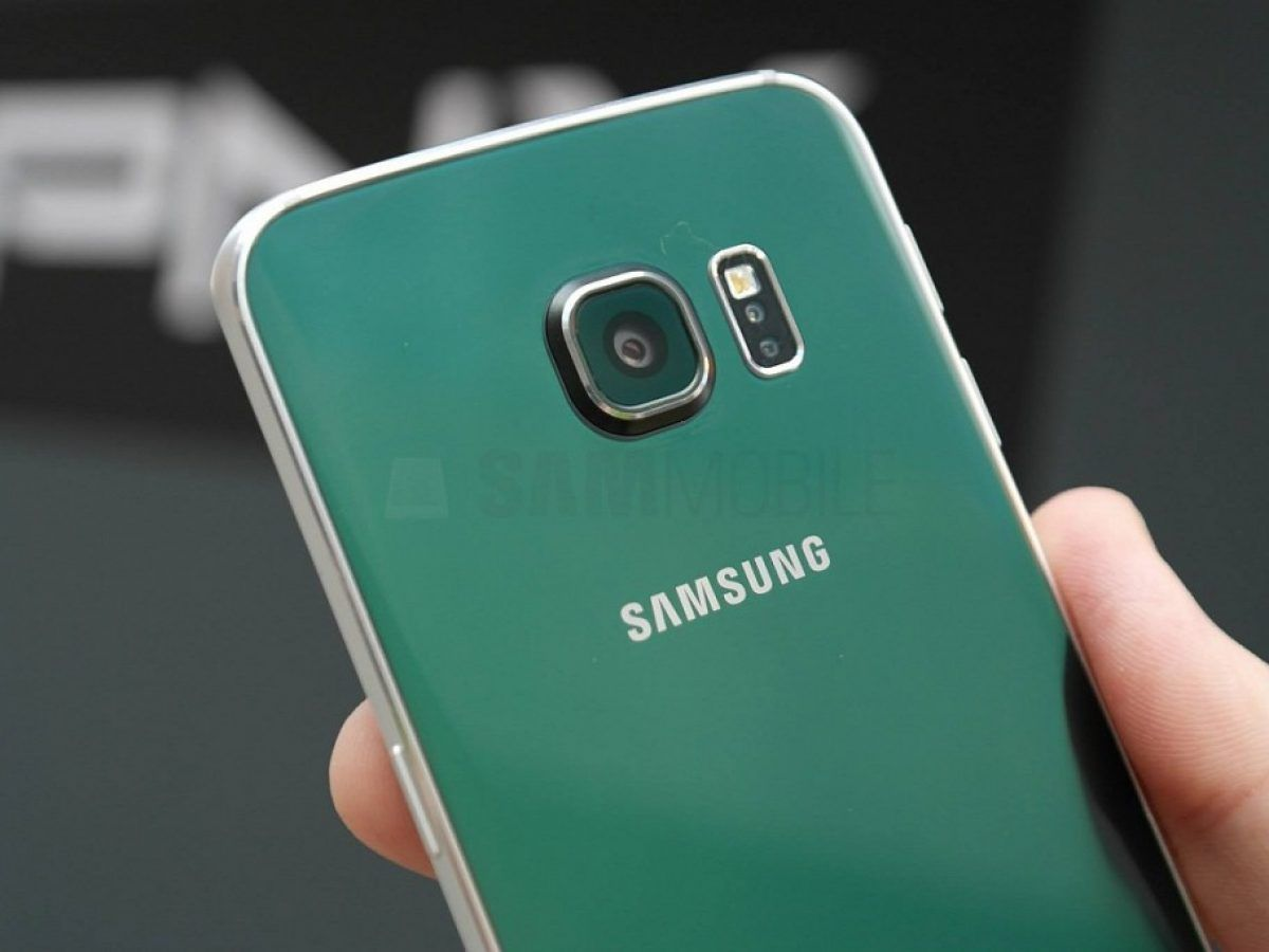 s6 edge green back