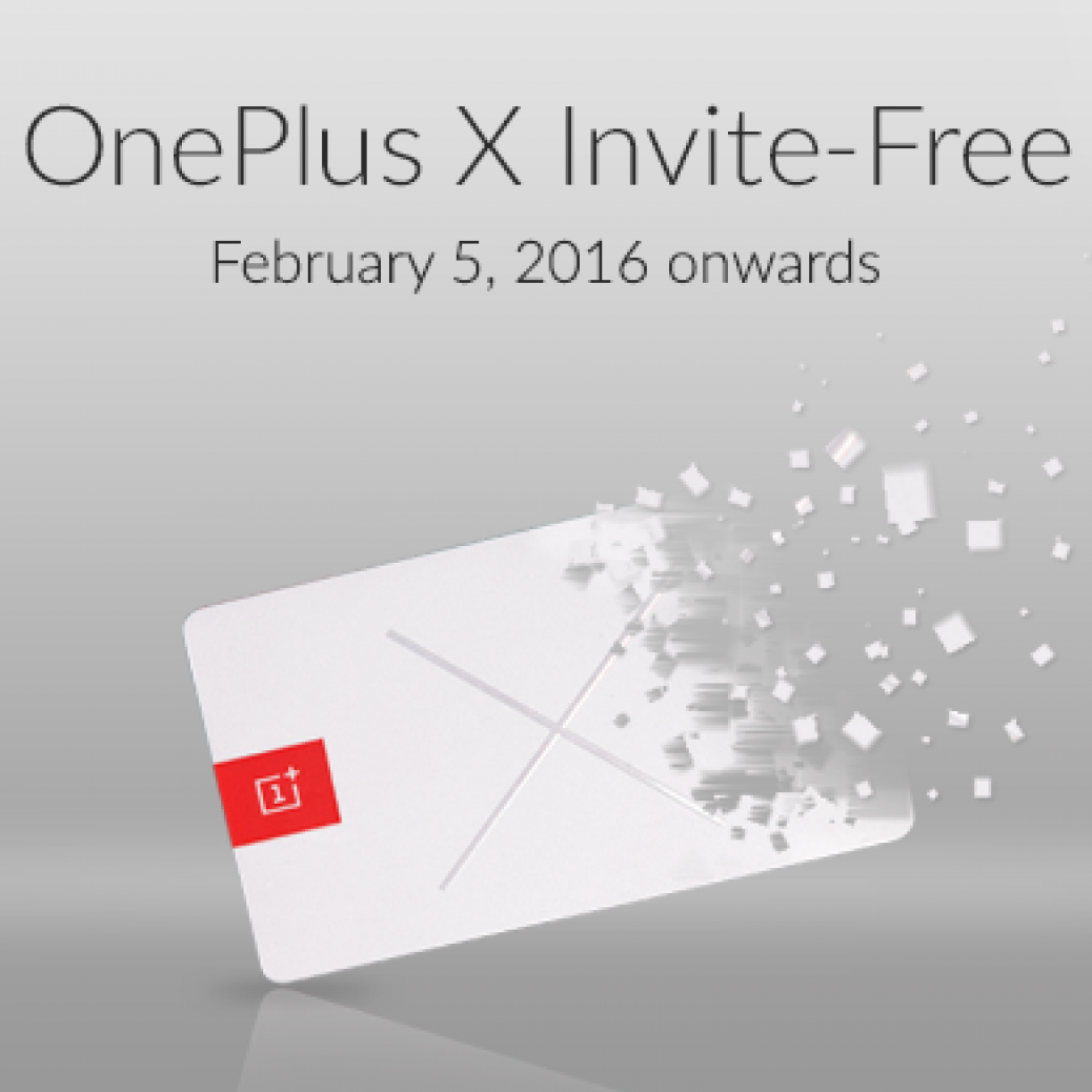 OnePlus X Invite Free