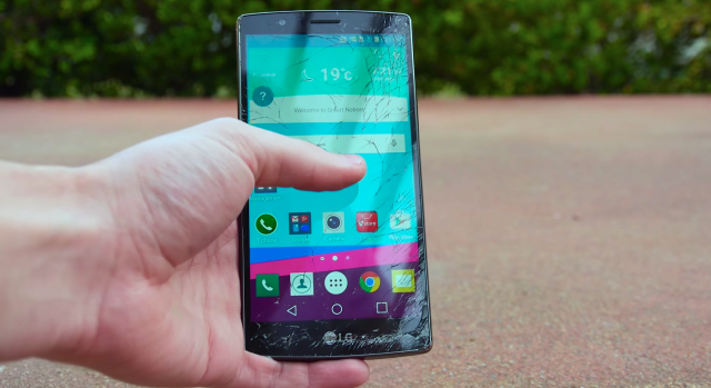LG G4 is still turning on? But Touch function doesn't work at all ?
