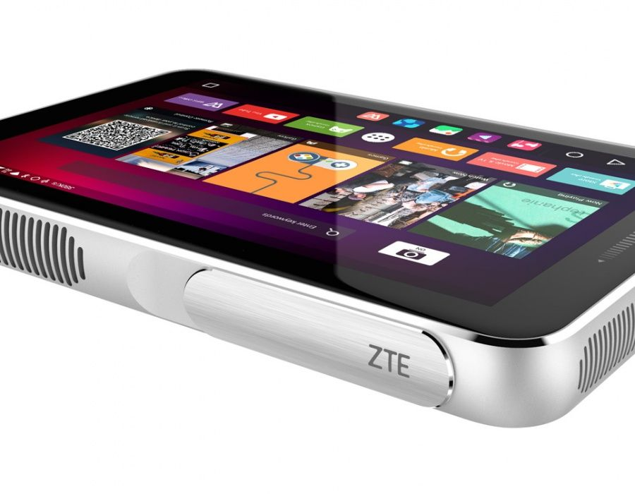 ZTE's latest Android projector is basically a tablet
