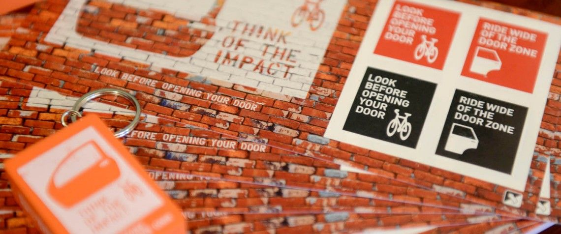 CAR DOOR CAMPAIGN URGES DRIVERS TO THINK OF THE IMPACT