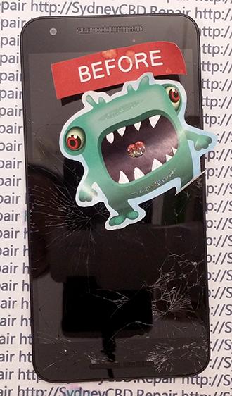LG Google Nexus 5X Phone Screen Repair