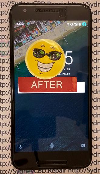 LG Google Nexus 5X Phone Screen Replacement