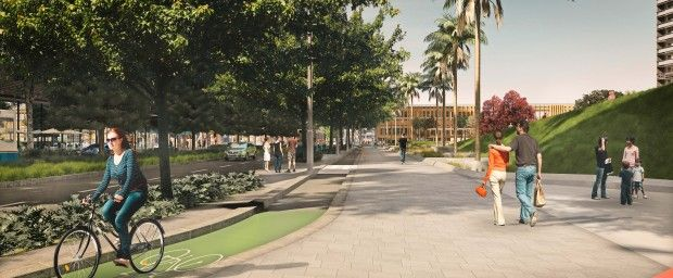 People first on Green Square's new streets