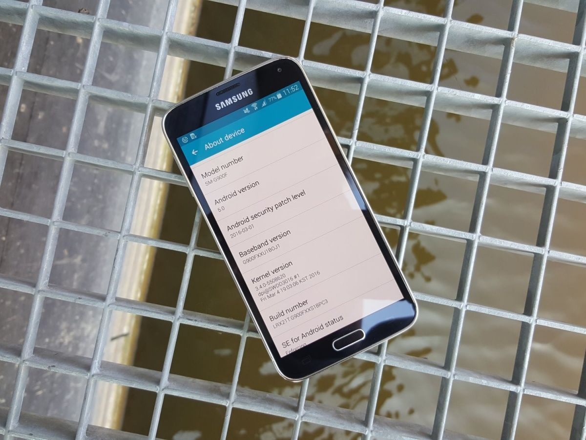 Galaxy S5, Galaxy Note 4 and Galaxy Note Edge are getting updates with March security patch