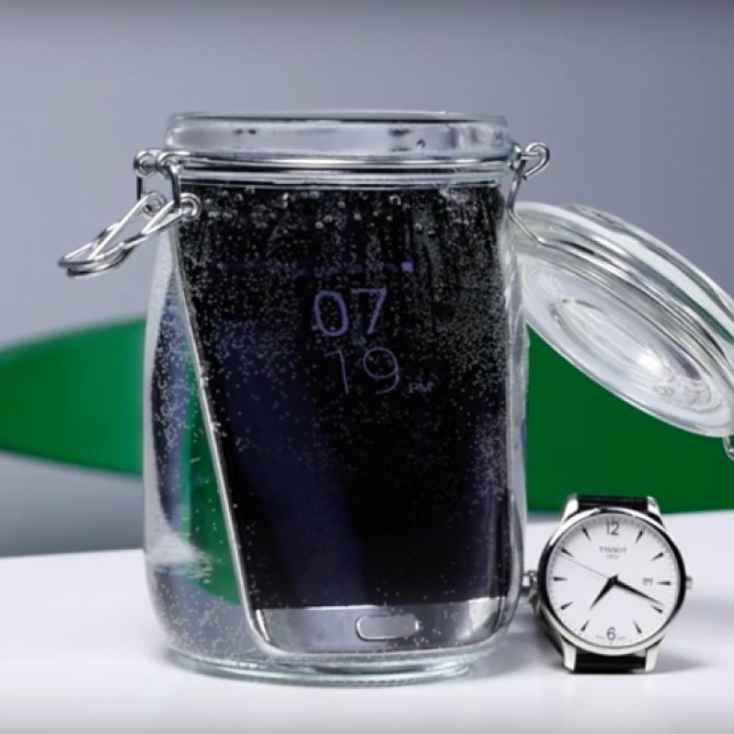 Galaxy S7 Water