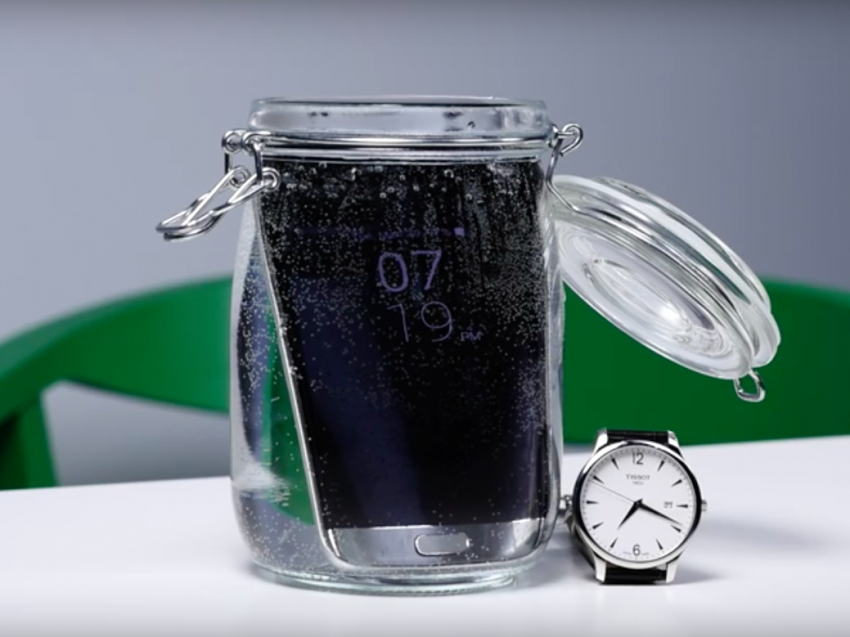 Galaxy S7 survives being immersed in water for 16 hours