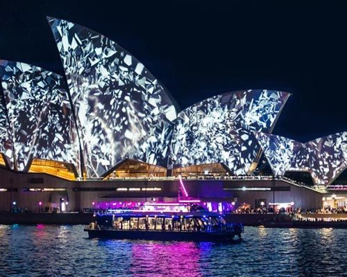 Vivid Sydney Cruise Photograph 3