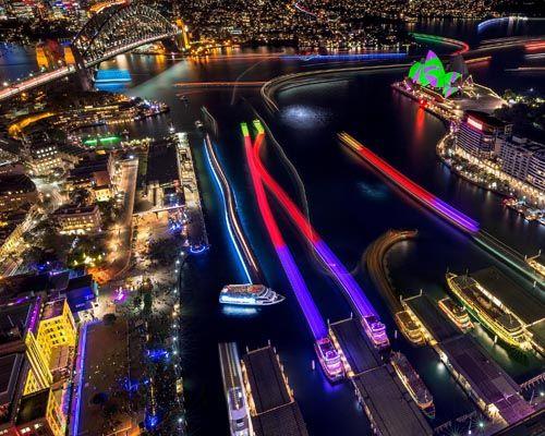 Vivid Sydney Cruise Photograph 6