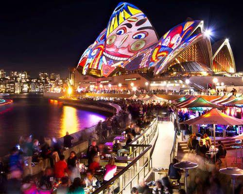 Vivid Sydney Cruise Photograph 7