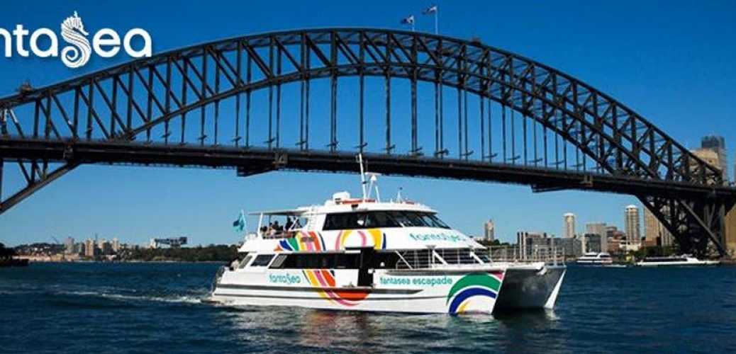 Fantasea Cruising Sydney on Vivid Sydney Cruises