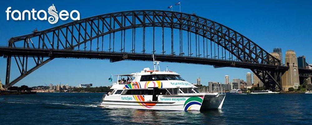 Fantasea Cruising Sydney on Vivid Sydney Cruises