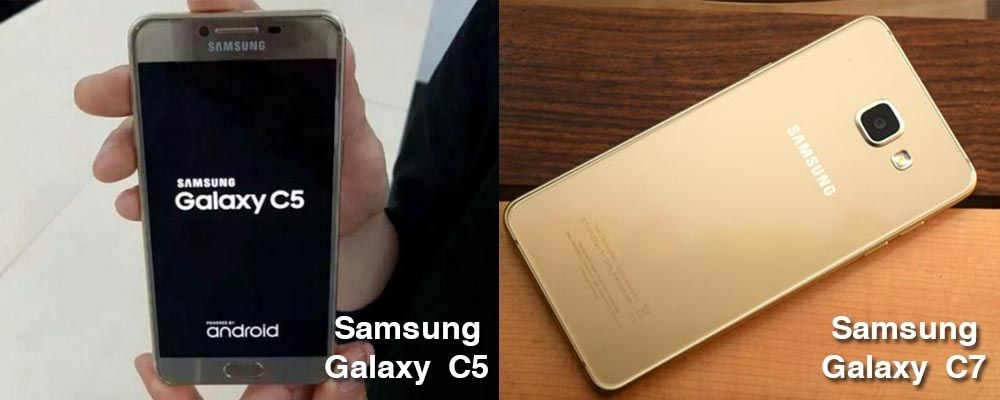 Samsung Galaxy C5 and C7 Got Launched Today